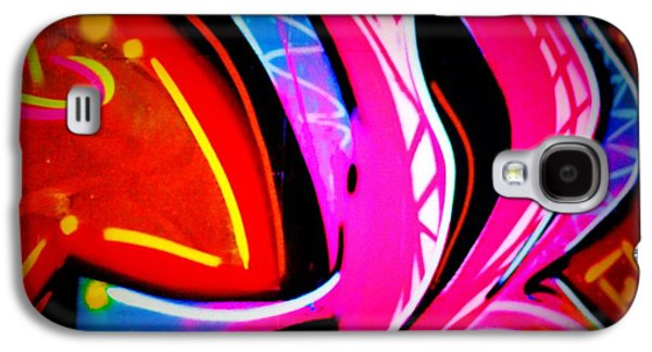 Splashy Art Galaxy S4 Cases - Graffiti Art 63 Galaxy S4 Case by Cindy Nunn