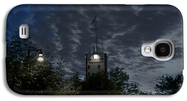 Lamp Post Mixed Media Galaxy S4 Cases - Grainery Frankfort IL Galaxy S4 Case by Thomas Woolworth