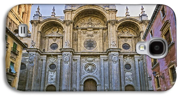 Incarnation Galaxy S4 Cases - Granada Cathedral Galaxy S4 Case by Joan Carroll