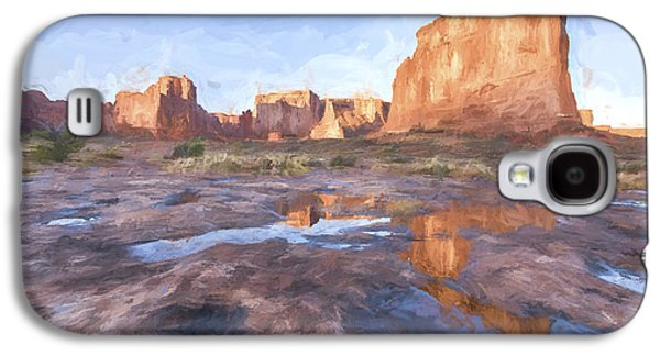Grand Arches IIi Galaxy S4 Case by Jon Glaser