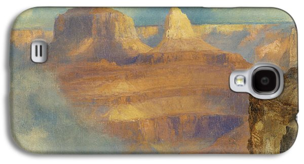Ledge Galaxy S4 Cases - Grand Canyon Galaxy S4 Case by Thomas Moran
