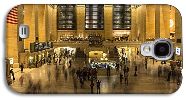 Landmarks Photographs Galaxy S4 Cases - Grand Central Station Galaxy S4 Case by Martin Newman