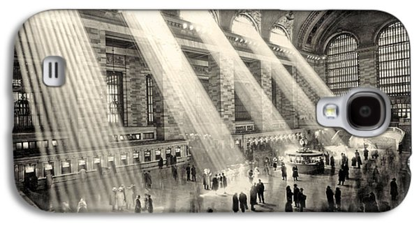 Grand Central Terminal, New York In The Thirties Galaxy S4 Case by American School
