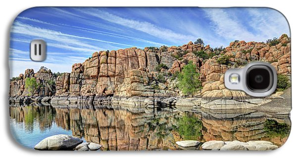 Granite Dells At Watson Lake Galaxy S4 Case by Donna Kennedy