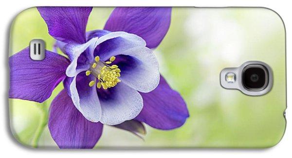 Granny's Bonnet Flower Galaxy S4 Case by Jacky Parker