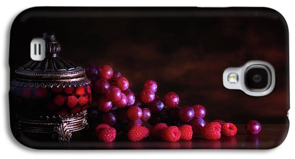 Grape Raspberry Galaxy S4 Case by Tom Mc Nemar