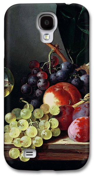 Grapes And Plums Galaxy S4 Case by Edward Ladell