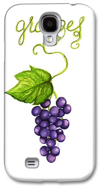 Grapes Galaxy S4 Case by Cindy Garber Iverson