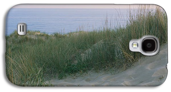 Indiana Scenes Galaxy S4 Cases - Grass On A Sand Dune, Indiana Dunes Galaxy S4 Case by Panoramic Images