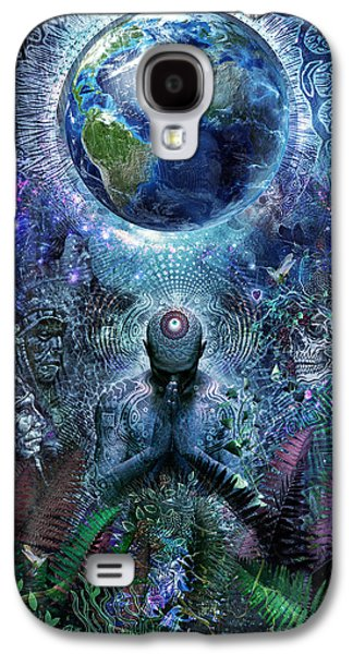 Gratitude For The Earth And Sky Galaxy S4 Case by Cameron Gray