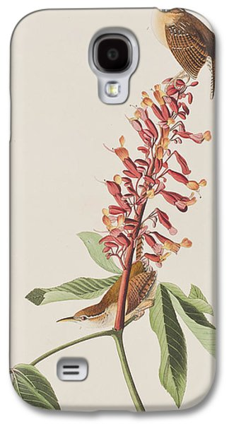 Great Carolina Wren Galaxy S4 Case by John James Audubon