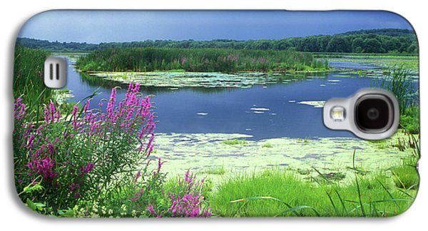 Great Meadows National Wildlife Refuge Galaxy S4 Case by John Burk