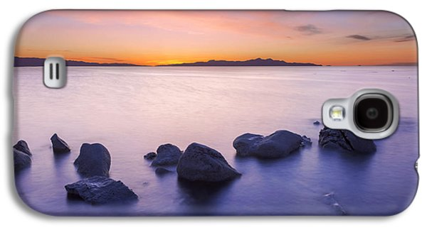 Salt Air Galaxy S4 Cases - Great Salt Lake Galaxy S4 Case by Dustin  LeFevre