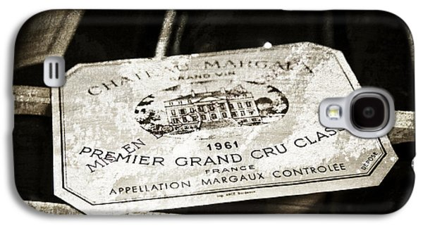 Food And Beverage Mixed Media Galaxy S4 Cases - Great Wines Of Bordeaux - Chateau Margaux 1961 Galaxy S4 Case by Frank Tschakert