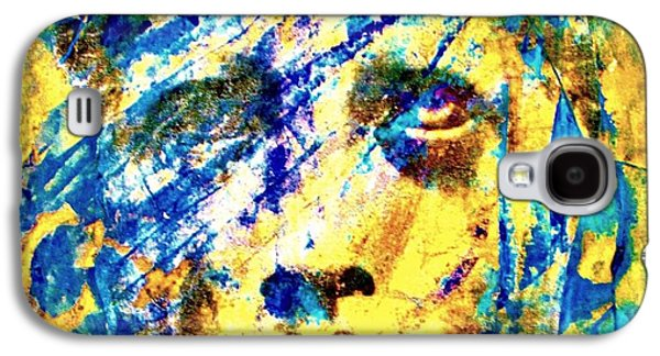 Abstract Digital Mixed Media Galaxy S4 Cases - Greek God Galaxy S4 Case by Richard Ray