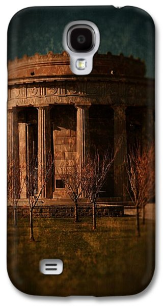 Building Framed Prints Galaxy S4 Cases - Greek Temple Monument War Memorial Galaxy S4 Case by Angie Tirado