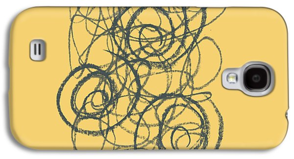 Green And Gold 2 Galaxy S4 Case by Julie Niemela