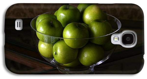Michael Sweet Galaxy S4 Cases - Green Apples Galaxy S4 Case by Michael Ledray