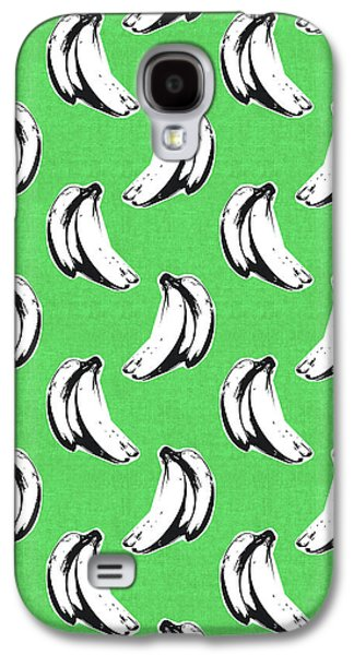 Green Bananas- Art By Linda Woods Galaxy S4 Case by Linda Woods