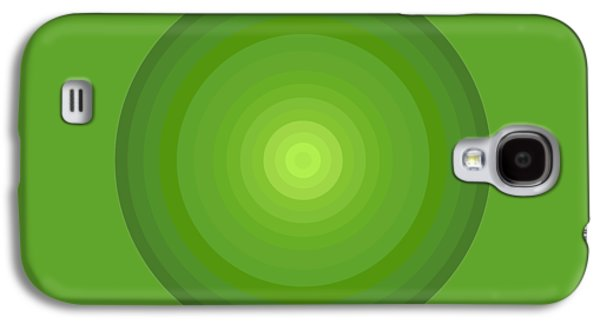 Green Circles Galaxy S4 Case by Frank Tschakert
