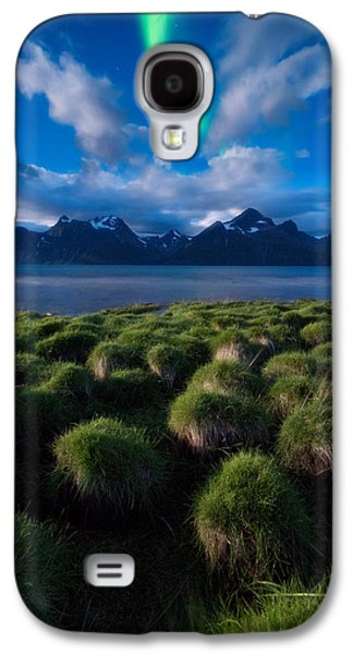Norway Galaxy S4 Cases - Green Night Galaxy S4 Case by Tor-Ivar Naess