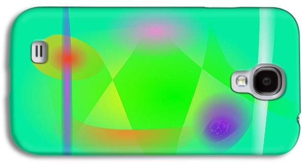 Plankton Digital Galaxy S4 Cases - Green World Galaxy S4 Case by Masaaki Kimura