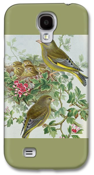 Greenfinch Galaxy S4 Case by John Gould