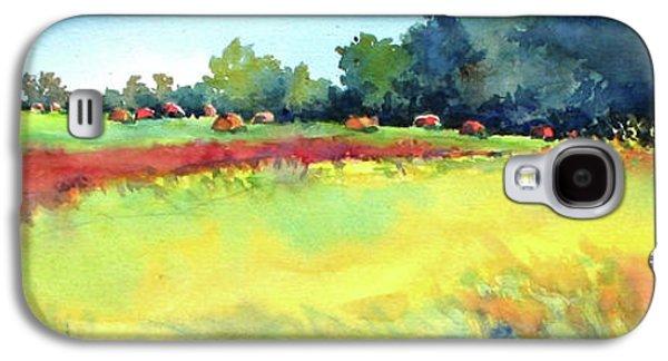 Greenville Hayfield Galaxy S4 Case by Virgil Carter