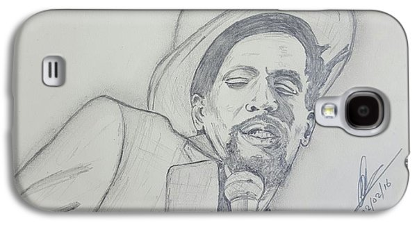 Gregory Isaacs Galaxy S4 Case by Collin A Clarke