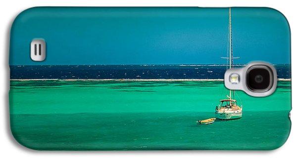 Contemplative Photographs Galaxy S4 Cases - Grenadines Sailboast Galaxy S4 Case by Don Schwartz