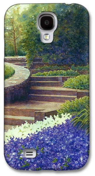 Janet King Galaxy S4 Cases - Gretchens view at Cheekwood Galaxy S4 Case by Janet King