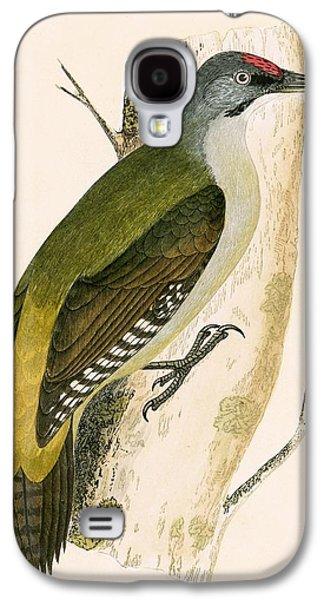 Grey Woodpecker Galaxy S4 Case by English School