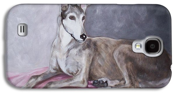 Greyhound At Rest Galaxy S4 Case by George Pedro