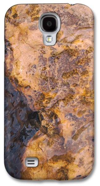 Modern Abstract Pyrography Galaxy S4 Cases - Grief Galaxy S4 Case by Artist Jacquemo