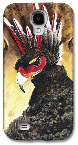 Storm Prints Mixed Media Galaxy S4 Cases - Griffin Sight Galaxy S4 Case by Melissa A Benson