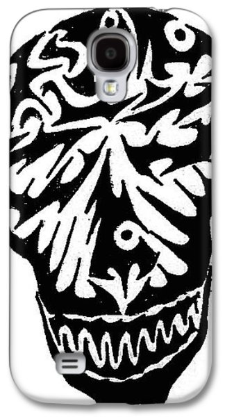 Abstract Digital Drawings Galaxy S4 Cases - Smile Galaxy S4 Case by AR Teeter