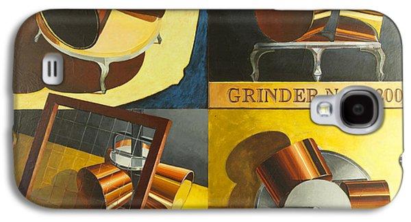 Mechanism Galaxy S4 Cases - Grinder 1 Galaxy S4 Case by Mark Howard Jones