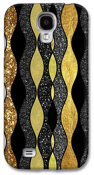 Groovy, Baby Modern Take On A Retro 1960s Design Galaxy S4 Case by Tina Lavoie