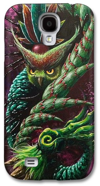 Dreamscape Galaxy S4 Cases - Guardian of the Great Blue Galaxy S4 Case by Eric Tresback