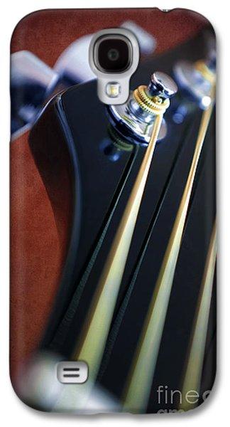 Guitar Head Stock Galaxy S4 Case by Carlos Caetano