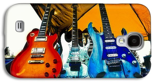 Guitars At Intermission Galaxy S4 Case by David Patterson