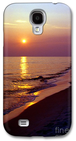 Florida Panhandle Galaxy S4 Cases - Gulf of Mexico Sunset Galaxy S4 Case by Thomas R Fletcher