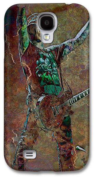 Celebrities Photographs Galaxy S4 Cases - Guns N Roses lead guitarist Dj Ashba Galaxy S4 Case by Loriental Photography