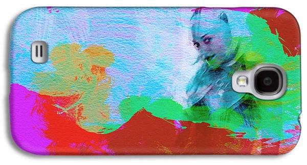 U2 Paintings Galaxy S4 Cases - Gwen Stefani Galaxy S4 Case by Naxart Studio