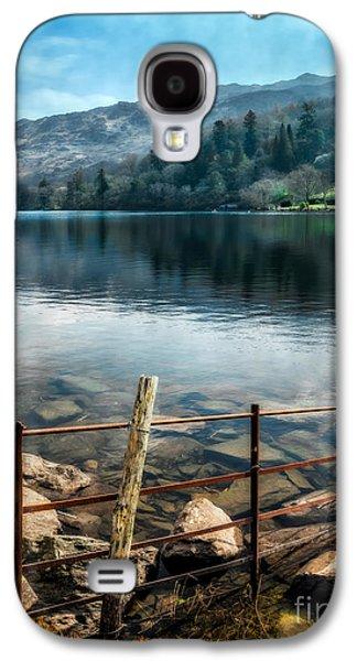 Dilapidated Digital Galaxy S4 Cases - Gwynant Lake Galaxy S4 Case by Adrian Evans