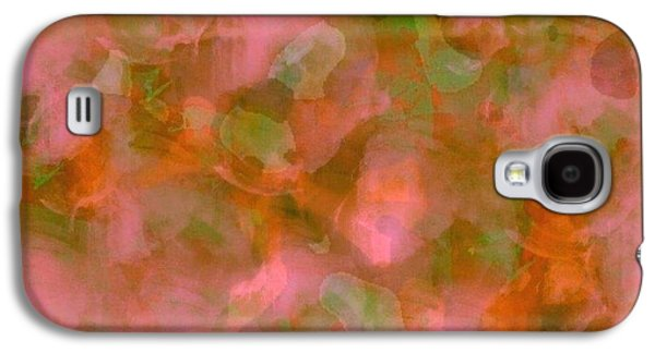 Abstract Digital Mixed Media Galaxy S4 Cases - Gypsy Rose Galaxy S4 Case by Riyaz Syed