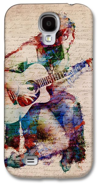 Grunge Galaxy S4 Cases - Gypsy Serenade Galaxy S4 Case by Nikki Smith