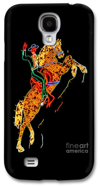 Lounge Galaxy S4 Cases - Hacienda Horse and Rider Galaxy S4 Case by Az Jackson