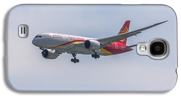 Jetsetter Galaxy S4 Cases - Hainan Airlines Dreamliner Galaxy S4 Case by Brian MacLean
