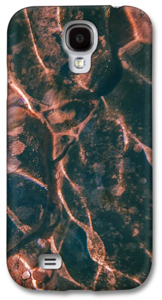 Modern Abstract Pyrography Galaxy S4 Cases - Hakuna Matata Galaxy S4 Case by Artist Jacquemo